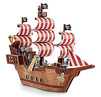 "MD9045 Pirate Ship 3D Puzzle (3D пазлы ""Пиратский корабль"")"