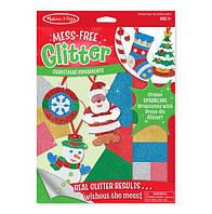 """MD19503 Christmas Ornaments (Объемные блестящие наклейки """"Рождественские украшения"""")"""