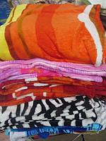 Махровое покрывало на кровать полуторное разные цвета
