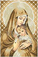Схема для вышивания бисером Мадонна з дитям (покірність)
