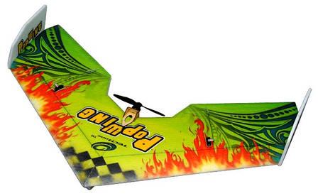 Летающее крыло TechOne Popwing 900мм EPP ARF (зеленый), фото 2