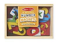 MD449 Магнитные деревянные цифры