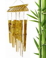"""Музыка ветра """"Пагода"""" бамбук 8 трубочек (L = 50 см)"""