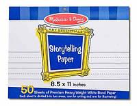 """MD4103 Storytelling Paper Pad (8.5""""x11"""") (Альбом для рисования 28х22 см)"""