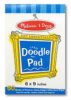 "MD4107 Doodle Pad (6""x9"") (Блокнот для рисования 16х23 см)"