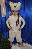 Новогодний меховой костюм белого Медведя