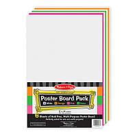 MD4173 6 Piece Poster Board Pack (Цветная бумага для рисования, 28х36 см)