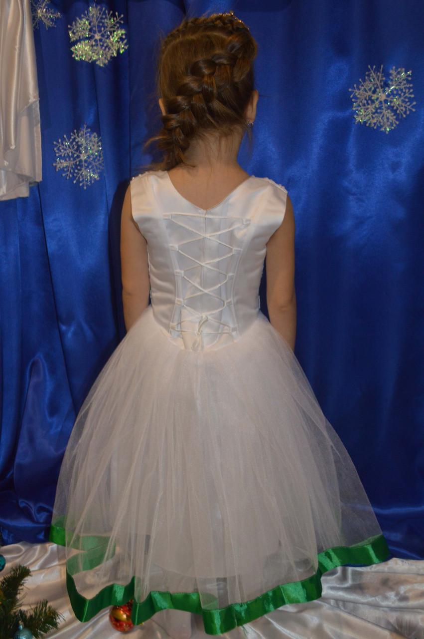 e4694fa8ade Красивое белое платье для девочки