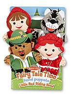 """MD9088 Fairy Tale Time Hand Puppets - Little Red Riding Hood (Кукольный театр """"Красная шапочка"""")"""