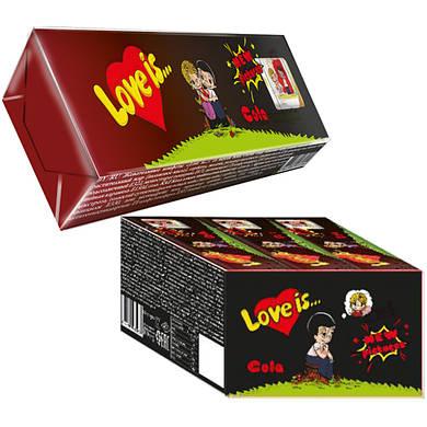 Love Is - жевательные конфеты кола (12 шт.)