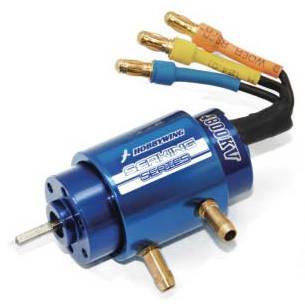 Бесколлекторный мотор HOBBYWING 4800KV-2040SL для катеров, фото 2