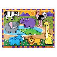 MD13722 Safari Animals (Сафари - формовой пазл)