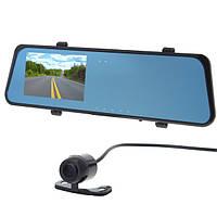 H701 5.0 MP 4.3 дюймов TFT 2-камера CMOS Авто Зеркало заднего вида Видеорегистратор