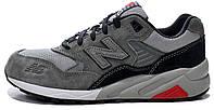 Зимние женские кроссовки New Balance 580 Grey, на меху