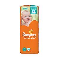 Памперсы для детей Pampers Sleep and Play 3 58шт. Pack