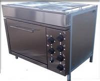 Плита электрическая 4-х конфорочная с духовкой ЭПК-4ШБ Эталон (Украина)