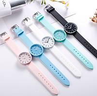 Силиконовые женские часы