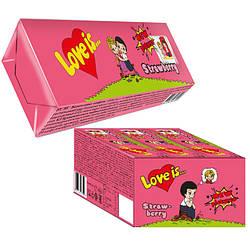 Love Is - жевательные конфеты клубника (12 шт.)