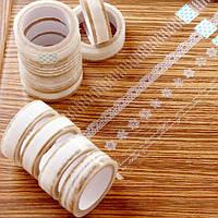 Прозрачный кружевной ленты цветочные декоративные кружевные ленты четкое кружево ленты