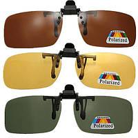 Клип на солнцезащитные очки поляризованные очки ночного видения объектив