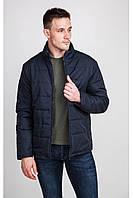 """Стеганая куртка с  """"v"""" выстроченой кокеткой без капюшо"""