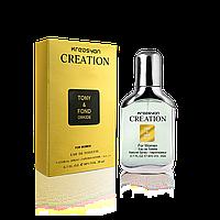 Мужская туалетная вода Kreasyon Creation Tony & Fond (аналог Tom Ford Black Orchid)