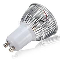 Gu10 6w белые/теплые белые 3 LED высвечивает лампочку LED свет лампы ac85-265v, фото 2