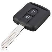 2 кнопки дистанционного ключа чехол для Ниссан навара микра новый uncut клинок