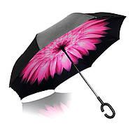 Зонт-трость Vip-brella розовый цветок