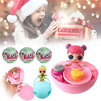 Кукла - сюрприз, Кукла LOL Mini в шаре 6 см, Мини Кукла LQL в шарике, Куколка ЛОЛ, Кукла в яйце, В наличии