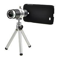 12X зум камеры телефона телескоп чехол для Samsung галактики S4 i9500 от царапин и пыли