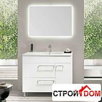 Комплект мебели для ванной комнаты Royo Group Bannio Confort 100 45 Set 8 зеленый антрацит