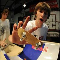 С подшипником колеса профессиональное палец скейт доска развивающие игрушки