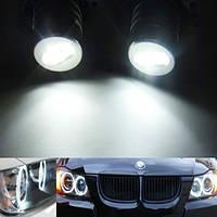 BMW E90 E91 325i 328i 335i 4d 05-09 глаза ангела LED маркер белый 6W