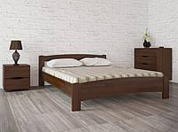 Кровать Милана ТМ Олимп(двуспальная, односпальная, полуторная, деревянная бук)