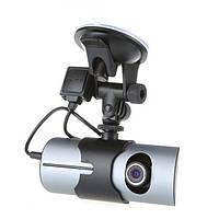 X3000 Автомобильный видеорегистратор камера черточки GPS G-сенсор рекордер 2.7inch двойной линзы