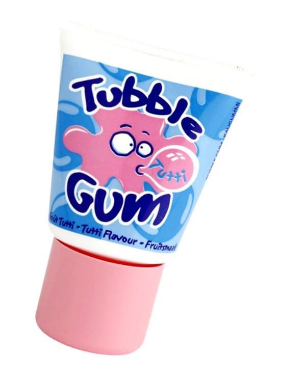 Жидкая жвачка Tubble Gum Tutti Lutti со вкусом тутти-фрутти в тюбике