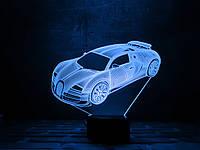 """Оригинальный 3D светильник """"Автомобиль 5"""" 3DTOYSLAMP"""