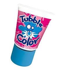 Жидкая жвачка Tubble Gum Lutti Color со вкусом малины окрашивающая рот