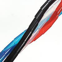 5м спиральный провод завернуть пробку управления шнур для ПК домашний компьютер кабель 4-50мм