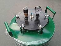Автоклав АБ-40 (с креплением на БОЛТАХ) для домашнего консервирования (зелёный), фото 1