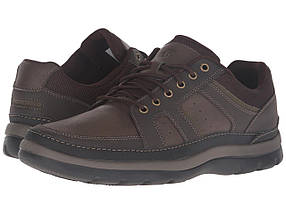 Кроссовки/Кеды (Оригинал) Rockport Get Your Kicks Mudguard Dark Brown Leather