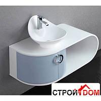 Тумба под умывальник Aqua-World Art МА02.96-L левосторонняя, белая