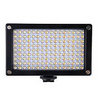 144as LED видео камеры Лампа Би-Цветовая температура 2354lux