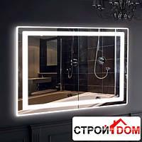 Прямоугольное зеркало с LED подсветкой Liberta Bergamo 1000x700