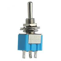 3 контакта переключающий контакт тумблера двигатели переменного тока 125в 6а водонепроницаемый синий
