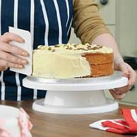 Выпечки инструменты для украшения торта поворотной платформы
