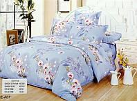 Полуторное постельное белье c 2 наволочками East New Casual E-A 07