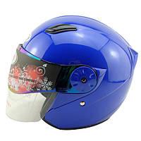 Осенне-зимний электрический автомобиль мотоциклетный шлем половина шлем с двумя объективами