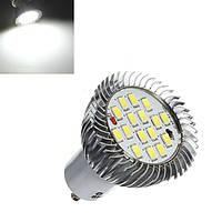 GU10 7Вт 640ЛМ Чисты белый LED лампа 85-265V